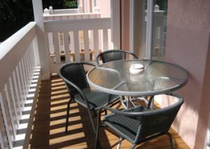 Balkon der Ferienwohnung in Graal-Müritz